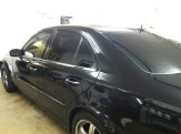 BLK Mercedes After Auto Window Tinting